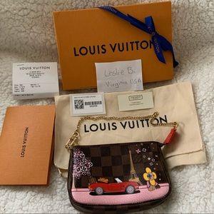 Louis Vuitton Mini Pochette XMas Edition Vivienne